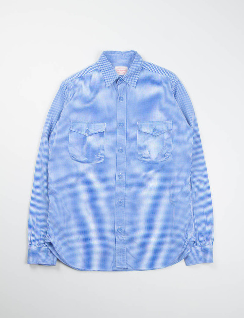 Blue Gingham Mill Shirt