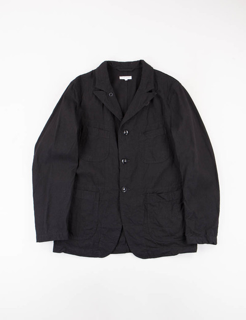 Black 7.5oz Slub Denim Bedford Jacket