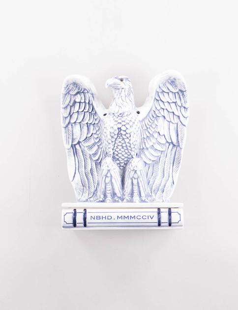 Blue Booze Eagle Incense Chamber