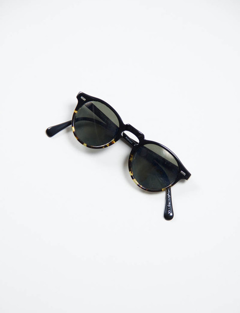 Black/DTBK Gregory Peck Sunglasses