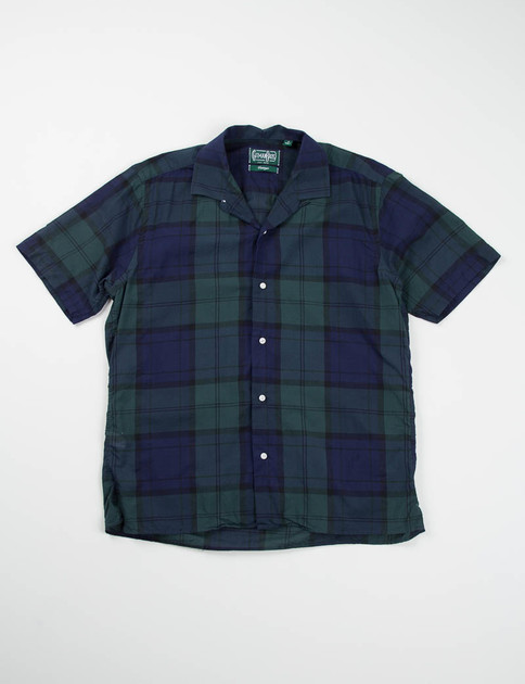Blackwatch Light Cotton Camp Shirt