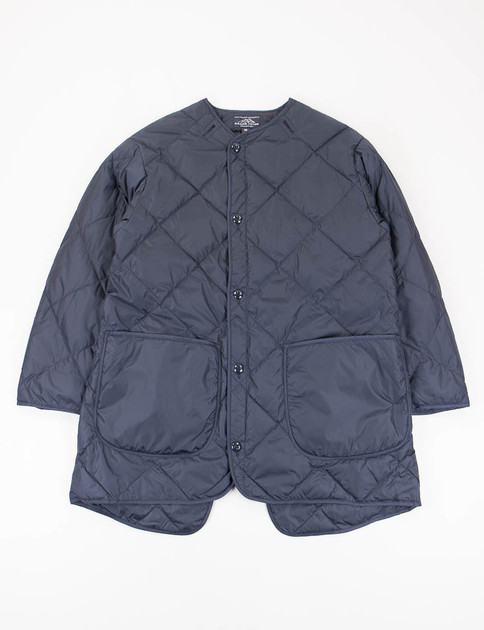 Navy Liner Down Coat