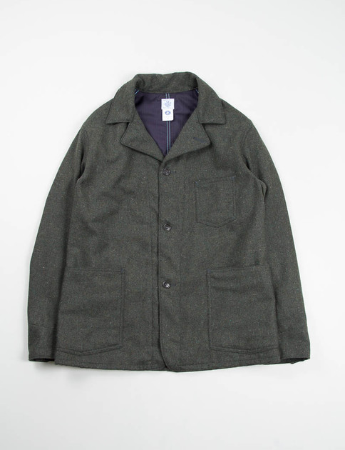 Olive Wool Tweed OK42 Jacket