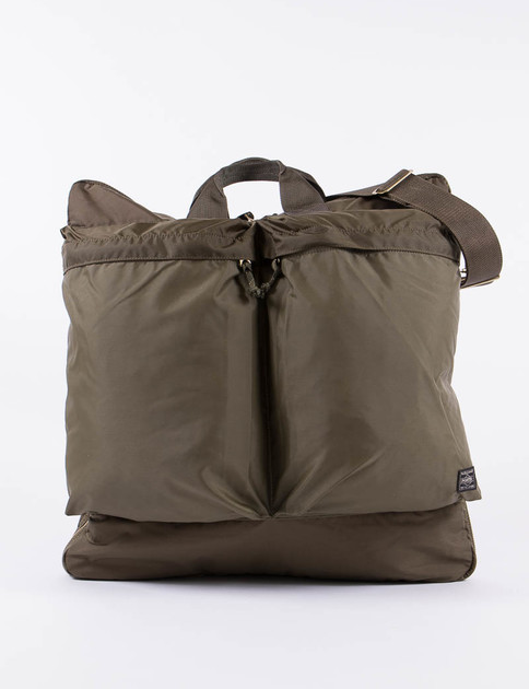 Olive Force 2Way Helmet Bag