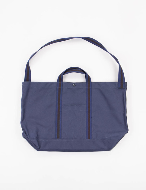 Navy 18oz Canvas Country Tote