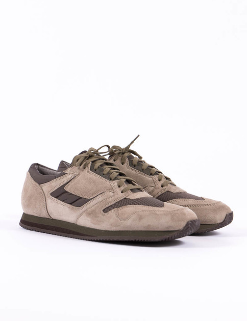 Beige/Olive 90's British Military Trainer