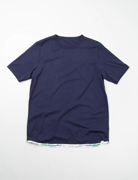 Navy Sublig Sunshine Tee
