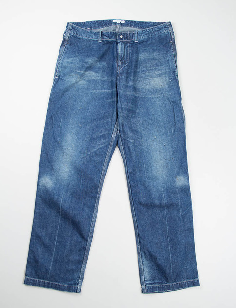 Used Denim Work Pants