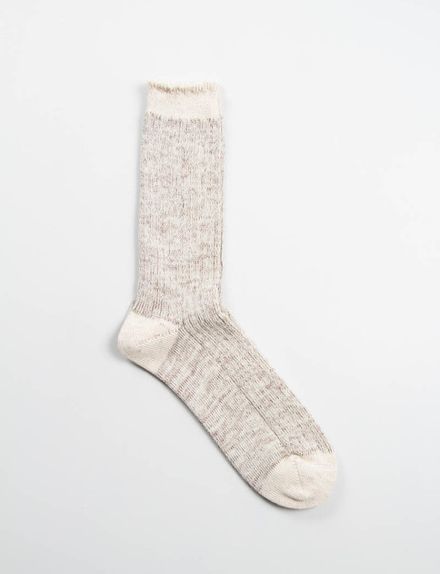 Brown/Natural Work Socks