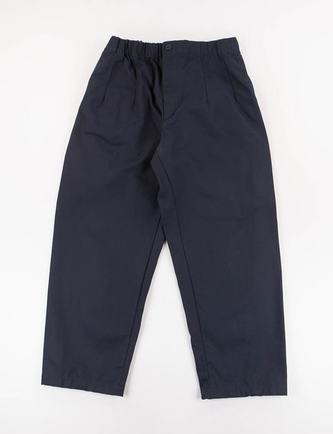 Dark Navy Heavy Cavalry Cotton Twill New Balloon Pant