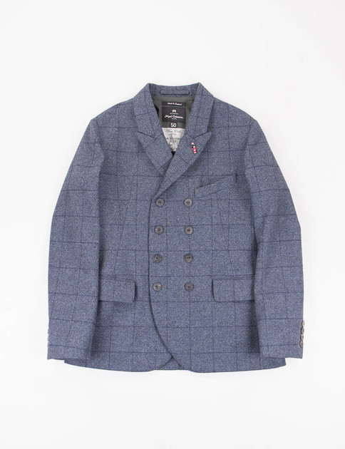 RAF Windowpane Flannel DB Jacket