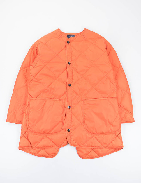 Orange Liner Down Coat