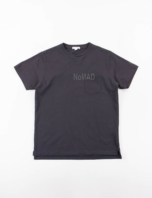 Navy Nomad Printed T–Shirt