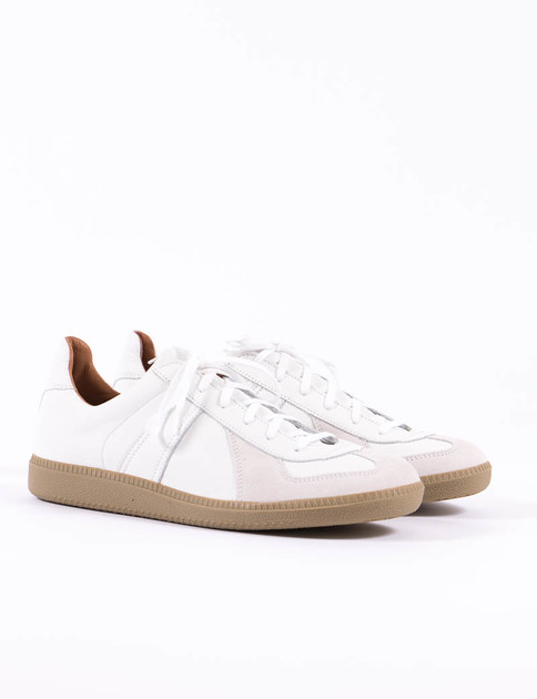 White 80's German Military Trainer