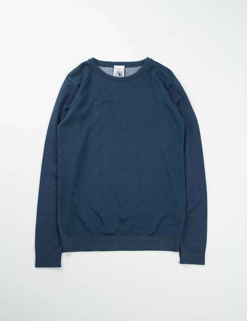 Aviator Blue Initiation Crew Neck