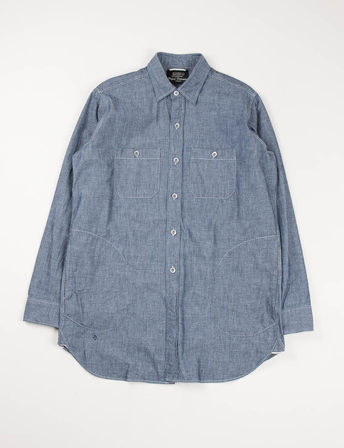 Lybro Indigo Chambray Big Shirt