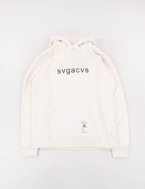 White SVG C–Hooded Sweat