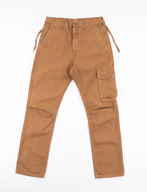 Gold Light Canvas Ringo Man Cargo Pant