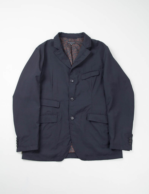 Navy Tropical Wool Andover Jacket
