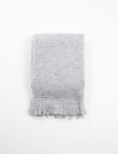 Granite Mohair Loop Scarf