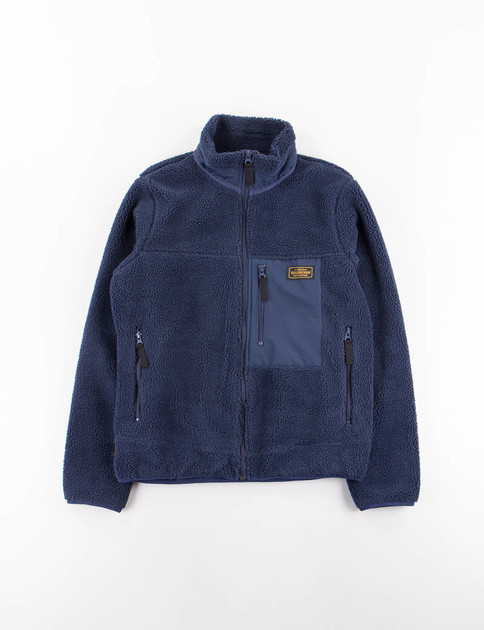 Navy Fleece E–Jacket