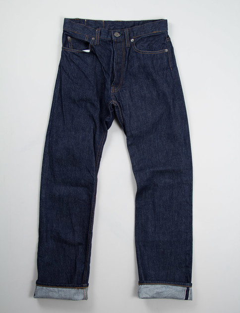 Indigo Red Selvage One Rinse Jean