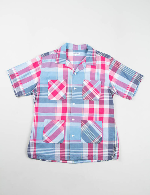 Red/Light Blue Big Plaid Chauncey Shirt