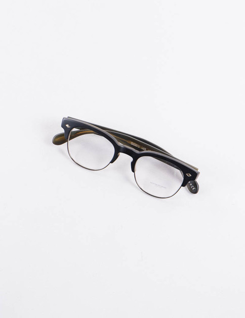 Semi Matte Black/Olive Tortoise Hendon LA Optical Frame