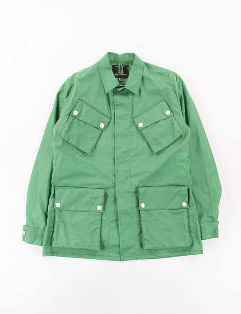 Green 4oz Beeswax Nam Jacket