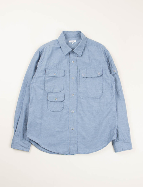 Light Blue Heather Activecloth Explorer Shirt
