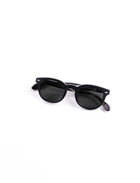 Semi Matte Black Sheldrake Sunglasses