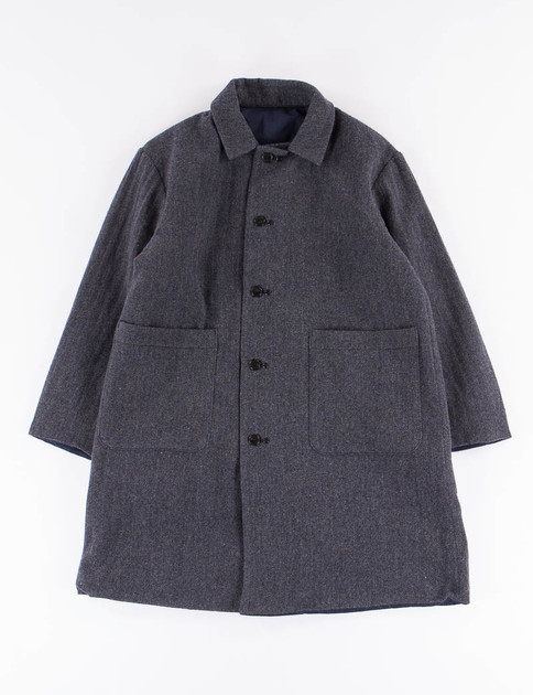 SETTO Charcoal Reversible Coat