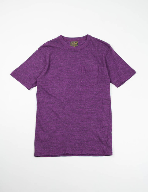 Purple Pocket Tee