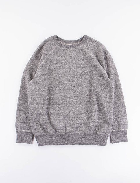 Charcoal Loop Wheel Crewneck Sweatshirt