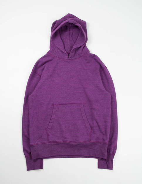Purple Pullover Parka