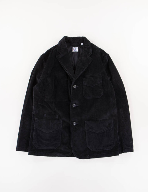 Navy Cord Villefranche Jacket