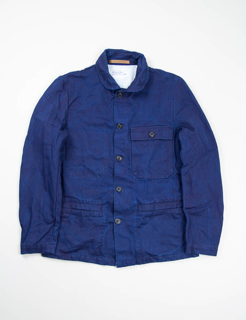 Indigo Twill Denim Lanza Jacket