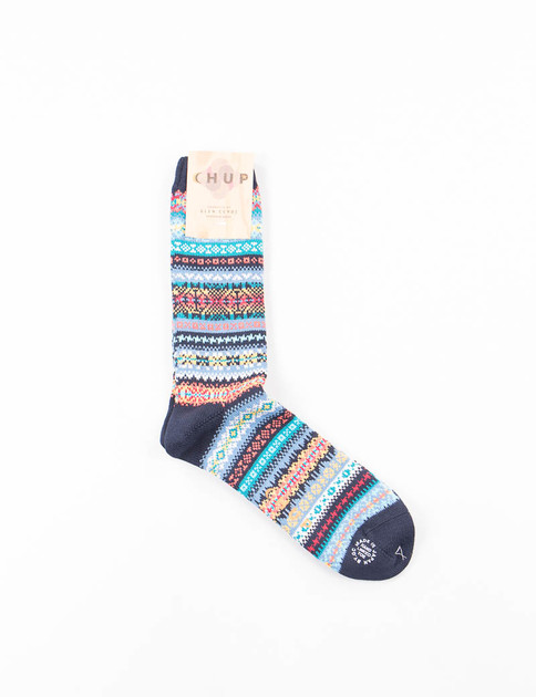 Navy Solas Socks