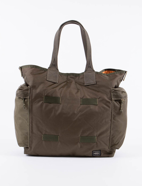 Olive Force 2Way Tote Bag