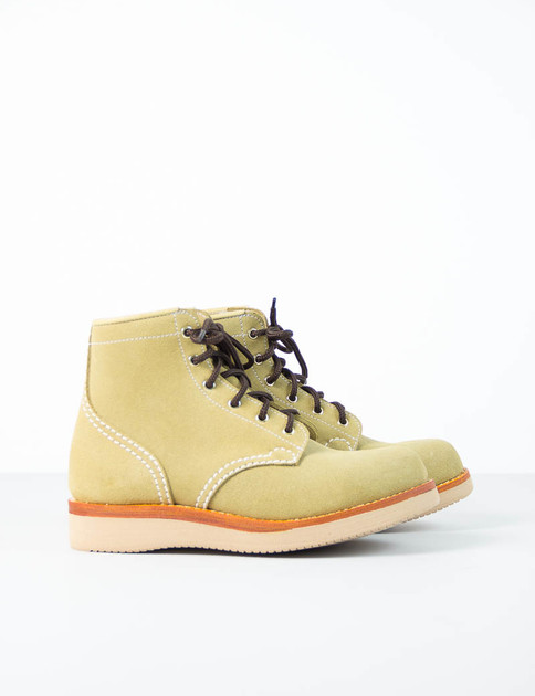 Avocado Rough Out Suede Tussock Boot