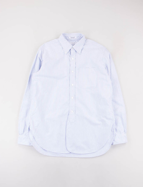 Blue Oxford Stripe 19th Century BD Shirt