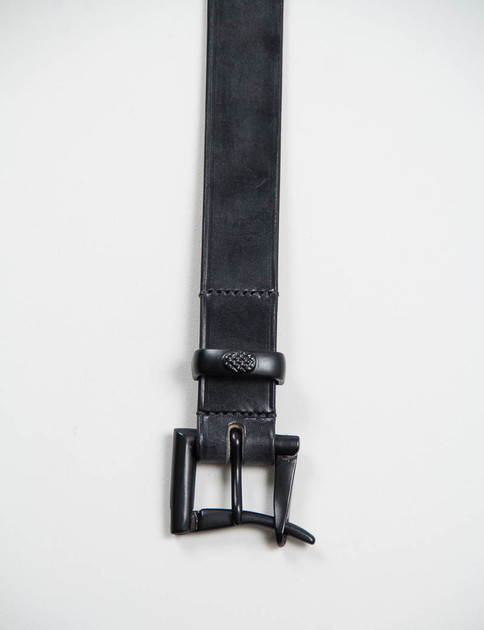 Black Leather Black EP Quick Release Belt