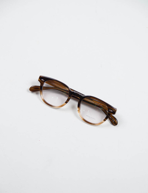 Brown Textured Tortoise Sheldrake Optical Frame