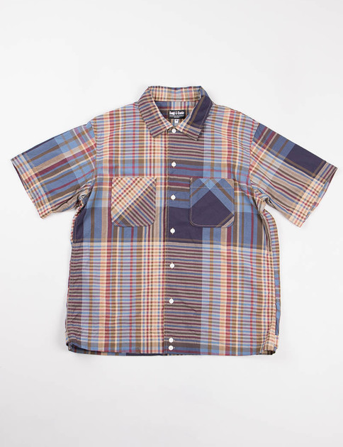 Brown Multi Plaid Byron Shirt