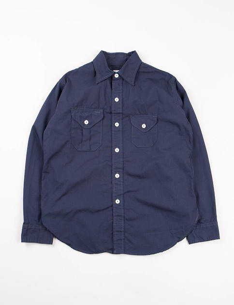Navy Cotton Ripstop Cruzer 2 Shirt