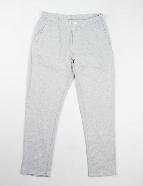 Heather Grey French Terry Easy Pant