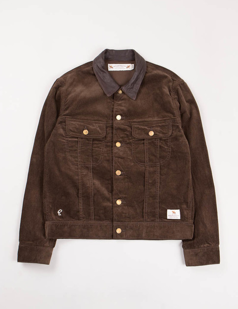 Brown Corduroy Stockman Jacket