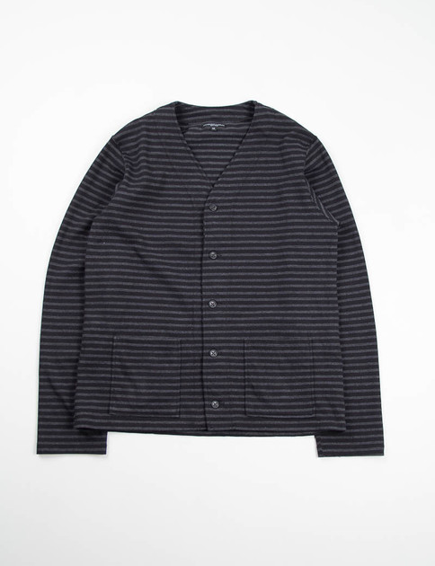 Black/Grey Stripe Jersey Knit C/D