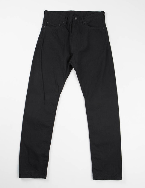 Black 7.5oz Denim Type 6 Jean