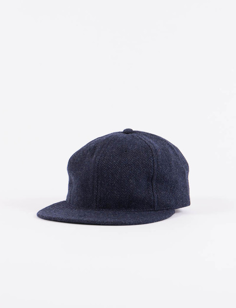 Navy HB Tweed NIer 6 Panel Ballcap